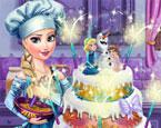 Elsa Düğün Pastası 2