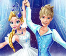 Elsa ve Jack Buz Dansı