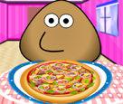 Pou Pizza Yapıyor