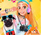 Prenseslerin Sevimli Dostlar Selfiesi
