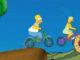 Simpsons Ailesi Bisiklet Yarışı