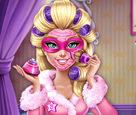 Süper Barbie Gerçek Makyaj