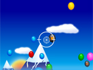 Uçan balonları patlatmaca